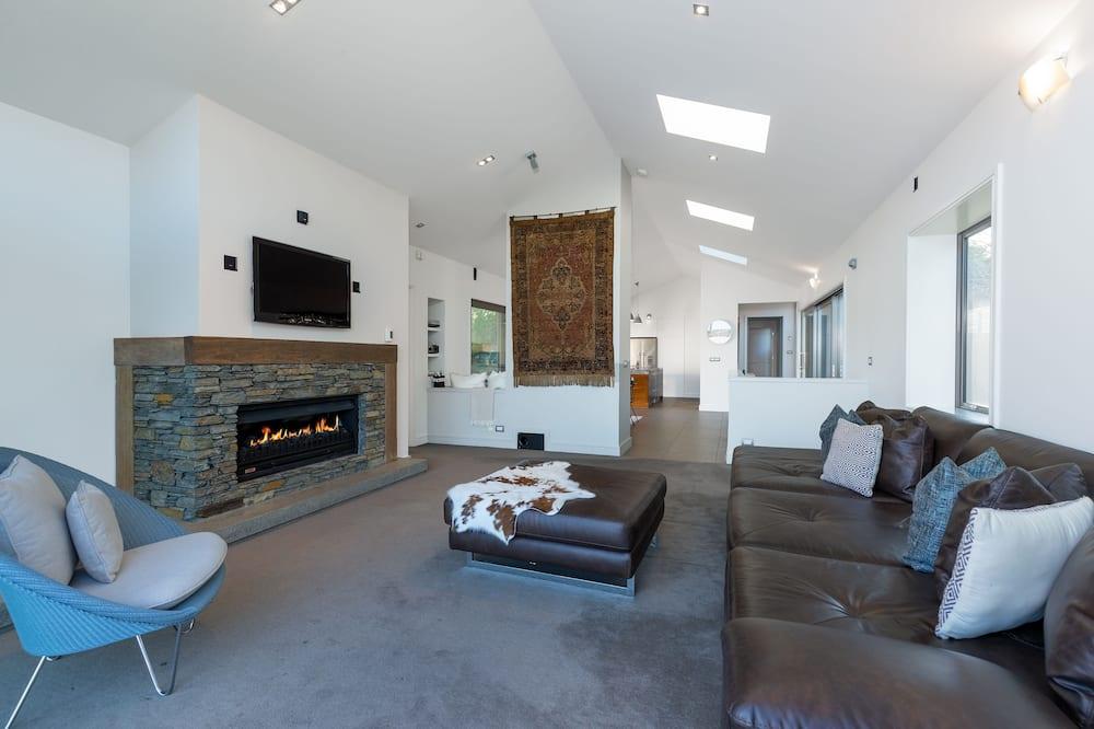 Luxusný dom - Obývacie priestory