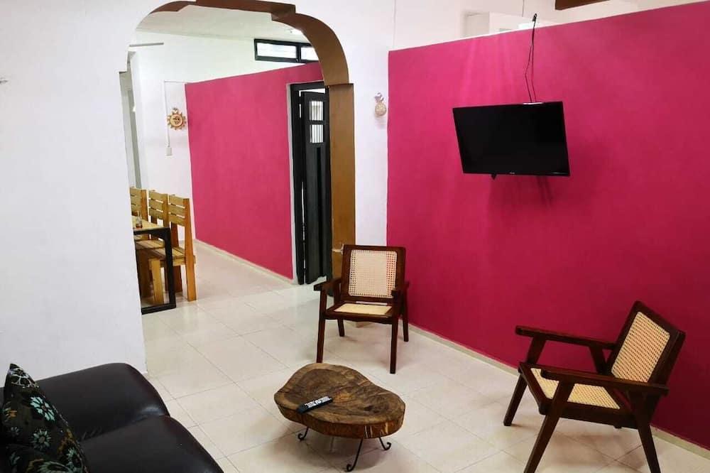 Casa de ciudad clásica - Sala de estar