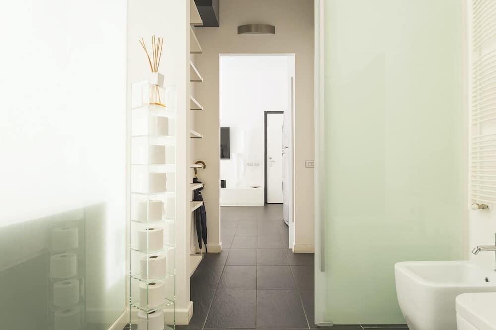 Apartamentai (1 Bedroom) - Vonios kambarys