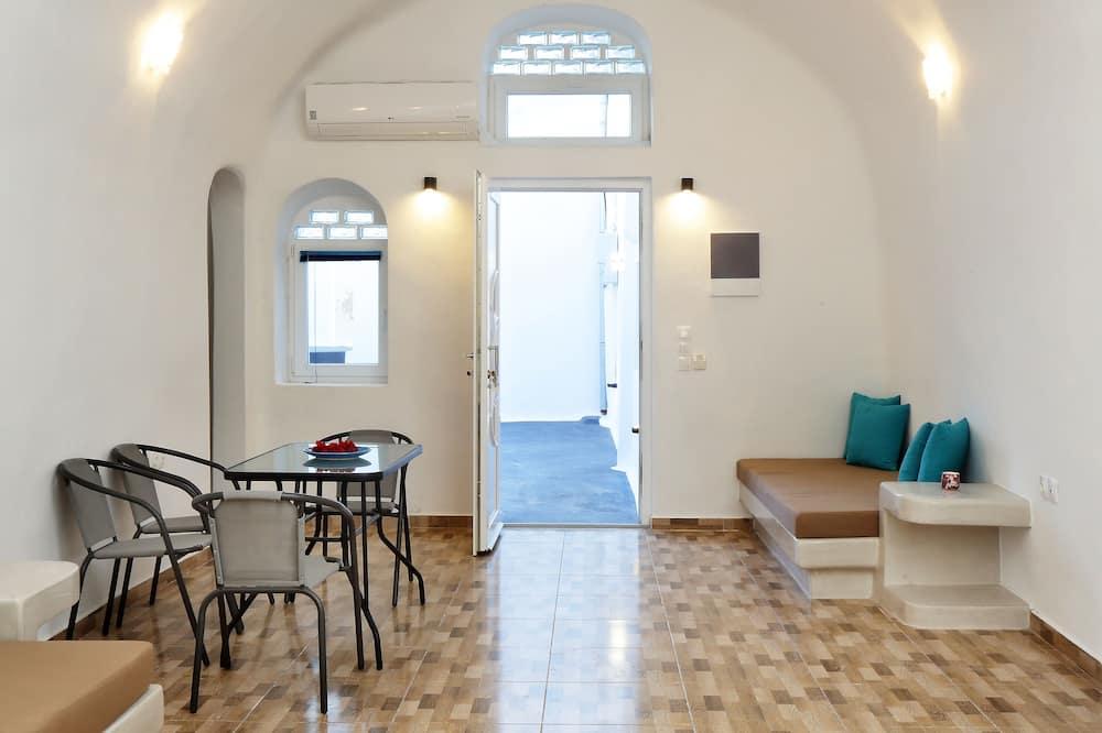 Luxury-Haus, 2Schlafzimmer, Whirlpool - Wohnbereich