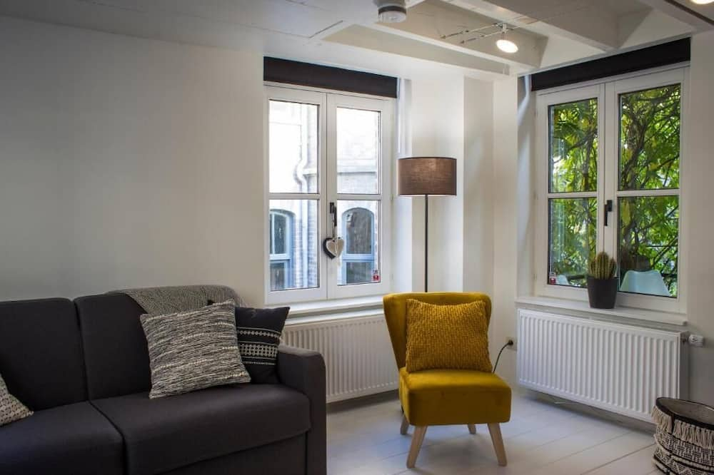 Classic Apartment, 1 Double Bed with Sofa bed - Living Area