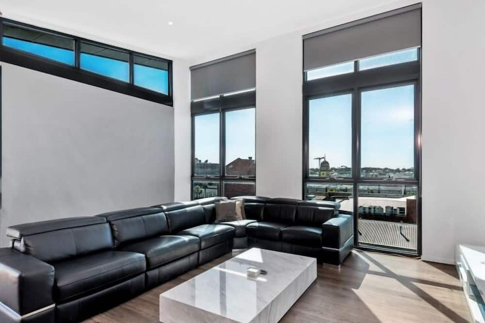 Penthouse, 2 Bedrooms - Living Area
