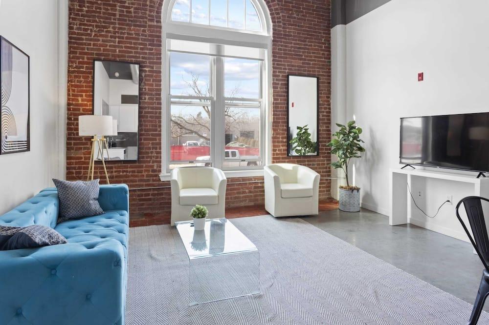 Apartmán typu Signature, 2 spálne, nefajčiarska izba - Obývačka