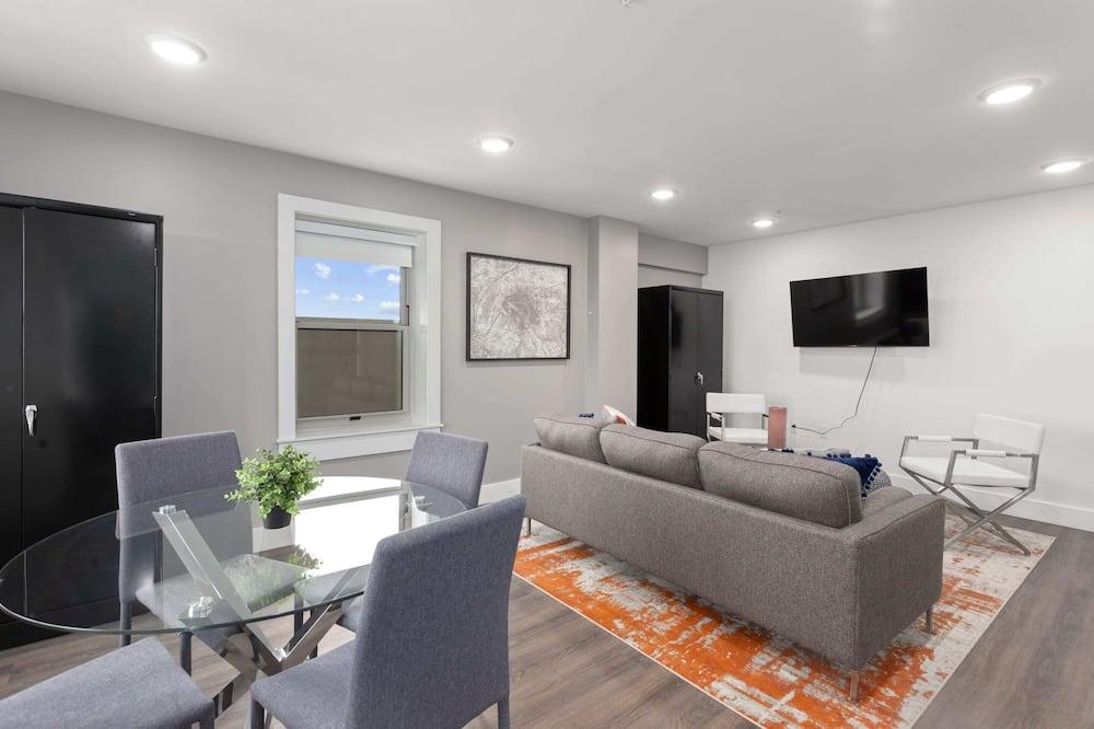 Signature-Apartment, 1 Schlafzimmer, Nichtraucher - Wohnzimmer