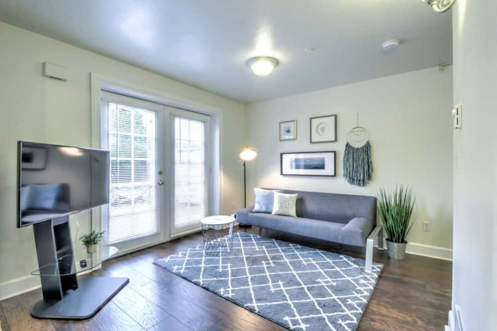 Design Condo, 1 Bedroom - Living Area