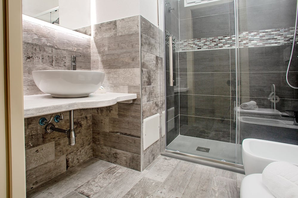 Panoramic-Suite - Badezimmer