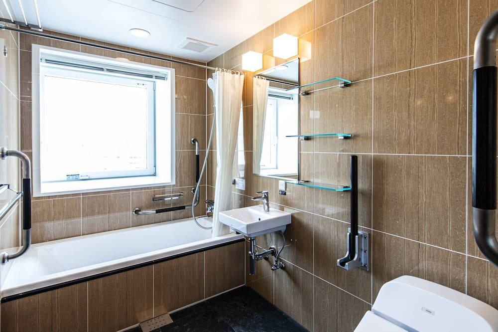 Dvojlôžková izba typu Deluxe, nefajčiarska izba (West Wing, No Public Bath) - Kúpeľňa