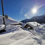 Chatka typu Deluxe - Výhľad na hory