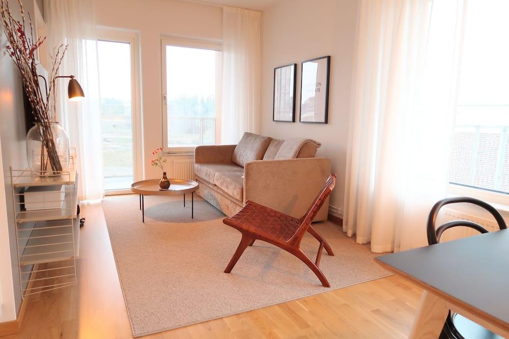 Apartamento Premier, Varanda - Área de Estar