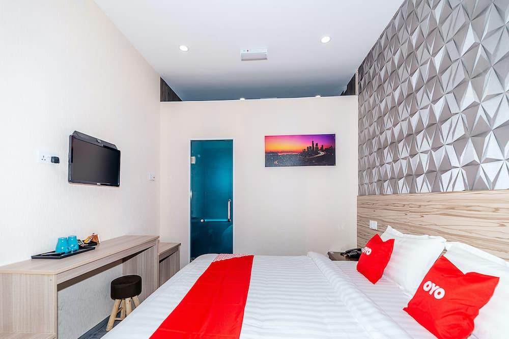 Dvojlôžková izba typu Deluxe, 1 extra veľké dvojlôžko - Hosťovská izba