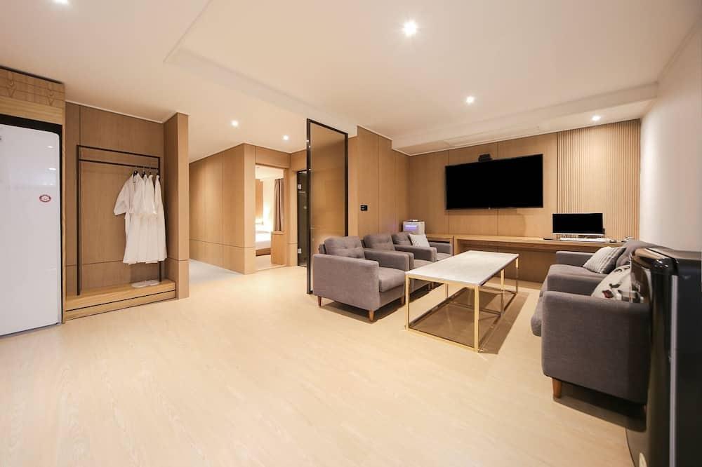 Suite (Rooftop) - Sala de estar
