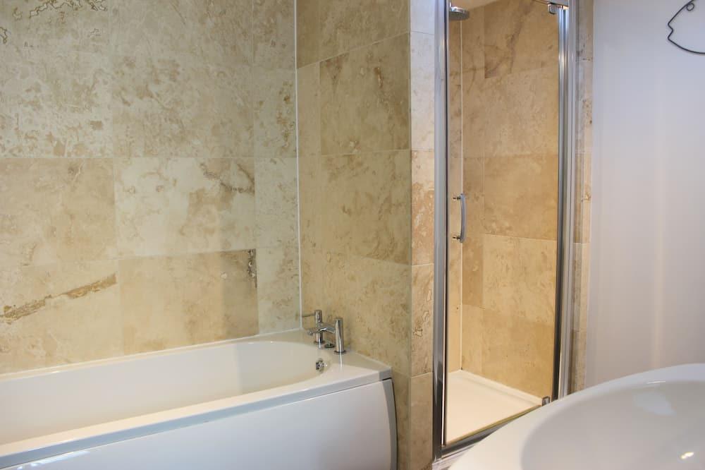 Traditional-huoneisto, Makuuhuoneen yhteydessä oleva kylpyhuone (Merchants Rise) - Kylpyhuone