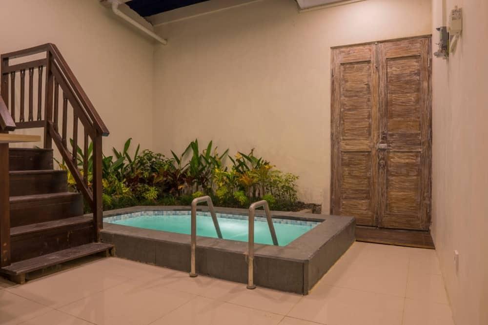 Вілла, 2 спальні, ванна з гідромасажем (Double) - Ванна кімната