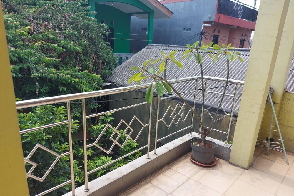 Enkeltværelse - Terrasse/patio