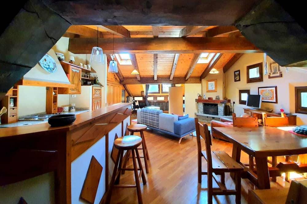 Štúdiový apartmán typu Exclusive - Obývacie priestory