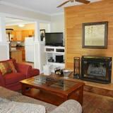Rekreačná chata, 3 spálne - Obývačka