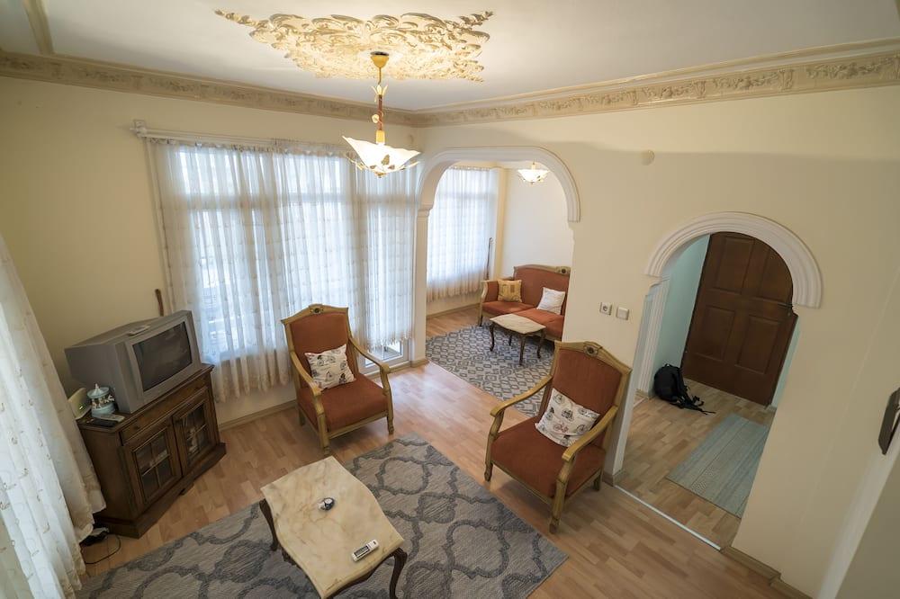 Апартаменты, Несколько кроватей - Гостиная