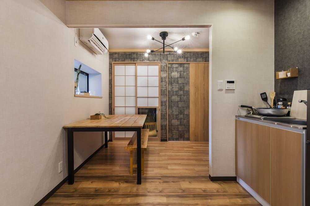 Mestský dom typu City, 2 spálne, nefajčiarska izba - Obývacie priestory