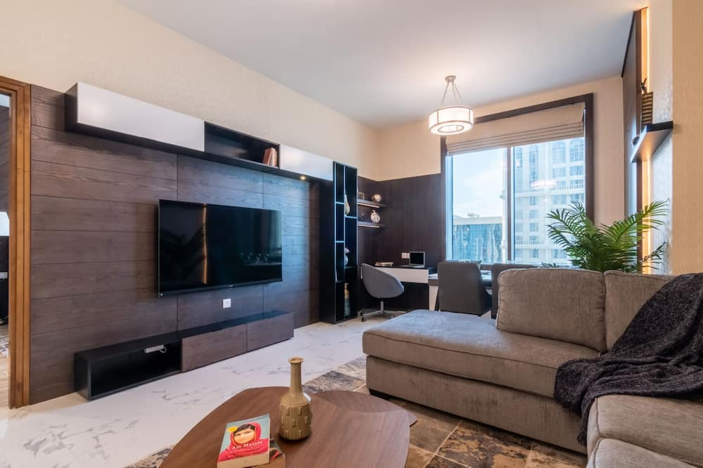 Apartmán typu Basic, dvojlůžko (180 cm) - Obývací pokoj