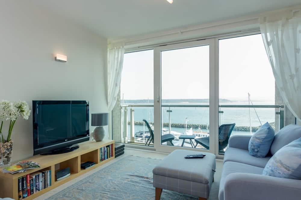 Apartmán, bezbariérová izba - Výhľad na pláž/oceán