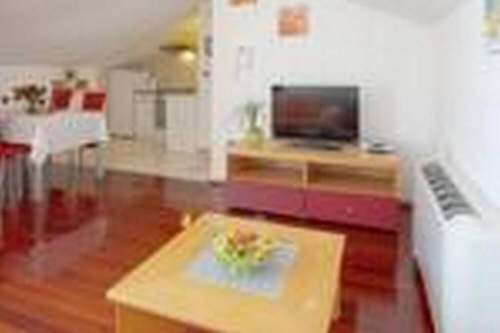Apartmán (One Bedroom Apartment with Sea View () - Obývačka