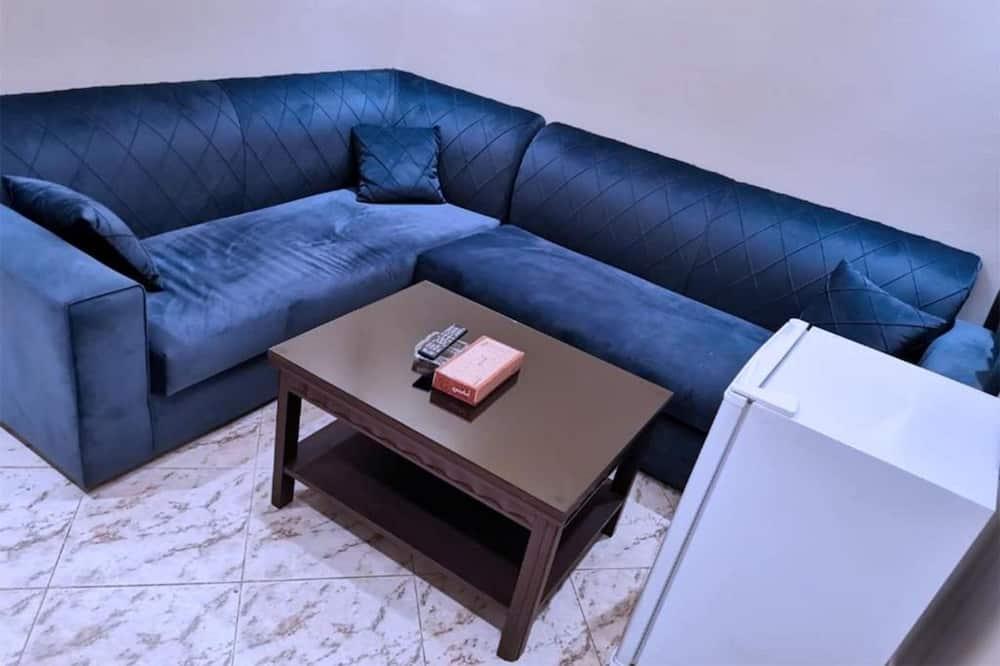 Leilighet, 1 soverom - Oppholdsområde