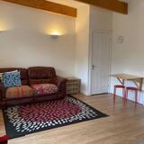 Apartmán, 1 veľké dvojlôžko - Obývačka