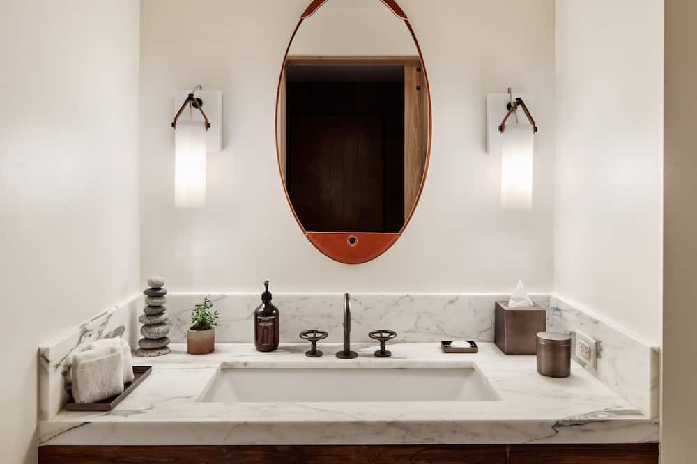 套房, 1 間臥室, 非吸煙房, 壁爐 - 浴室