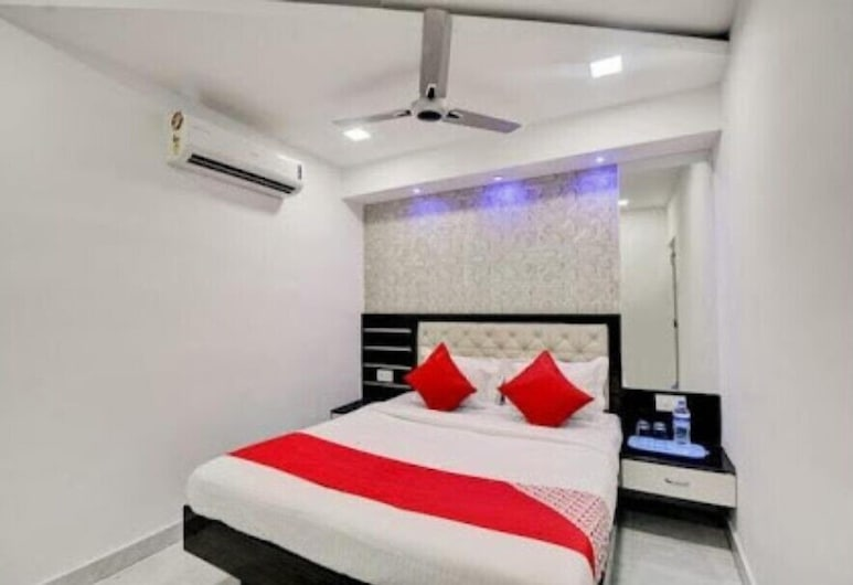 Hotel swagatham Residency, Νάβι Μουμπάι, Deluxe Δίκλινο Δωμάτιο (Double ή Twin), 1 Υπνοδωμάτιο, Δωμάτιο επισκεπτών