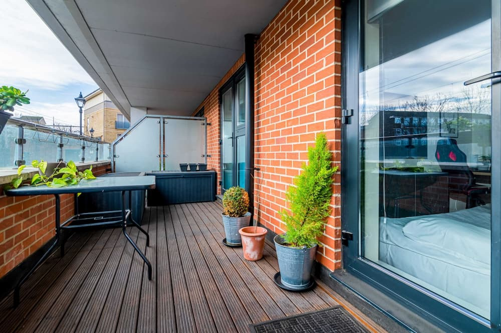 Apartmán typu Basic, 1 extra veľké dvojlôžko - Balkón