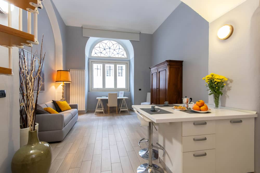 Apartmán - Obývacie priestory