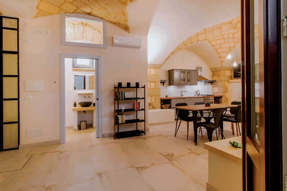 Rekreačná chata typu Exclusive (Fausta) - Obývacie priestory