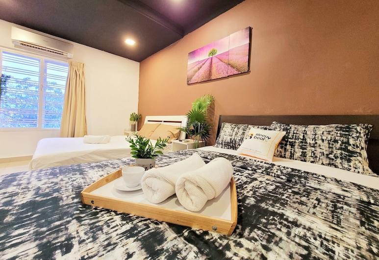 USJ6 Spacious Party House by Sleepy Bear, سوبانج جايا, غرفة عائلية, الغرفة