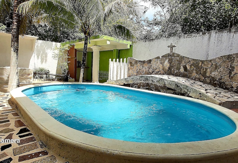 Suite Familiar con piscina privada, Playa del Carmen, Buitenzwembad