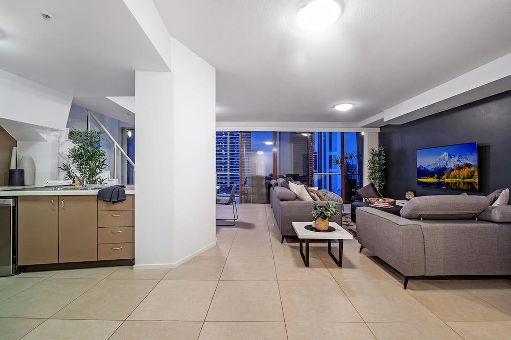 Lejlighed (Penthouse) - Opholdsområde