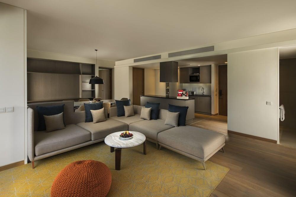 Апартаменти, 3 спальні - Житлова площа