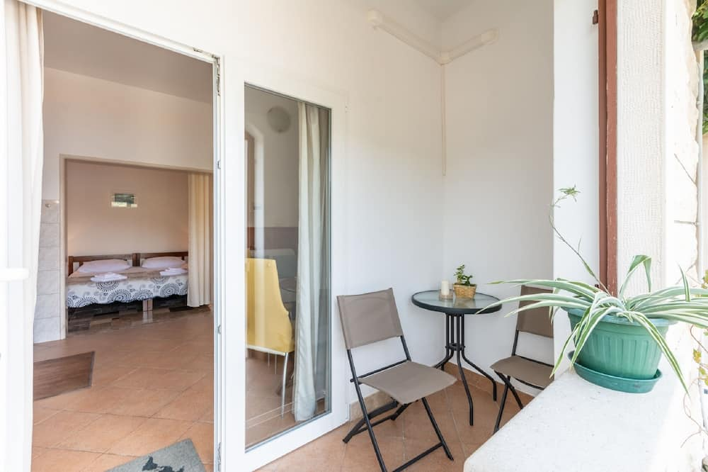 Štúdio (Studio Apartment with Sea View) - Balkón