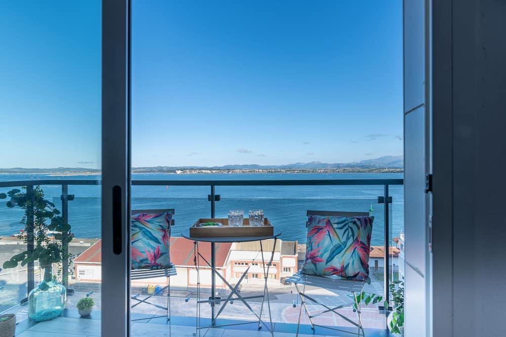 Apartmán, 2 spálne, terasa, výhľad na more - Balkón