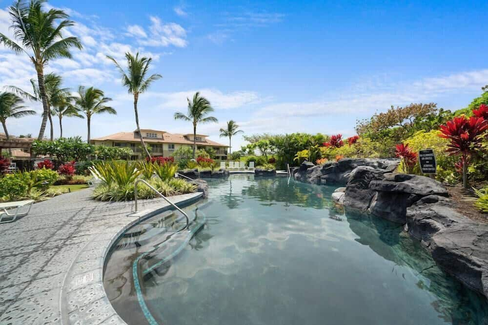 コンドミニアム ベッド (複数台) (Beach Villas M3 at the Waikoloa Beach) - プール