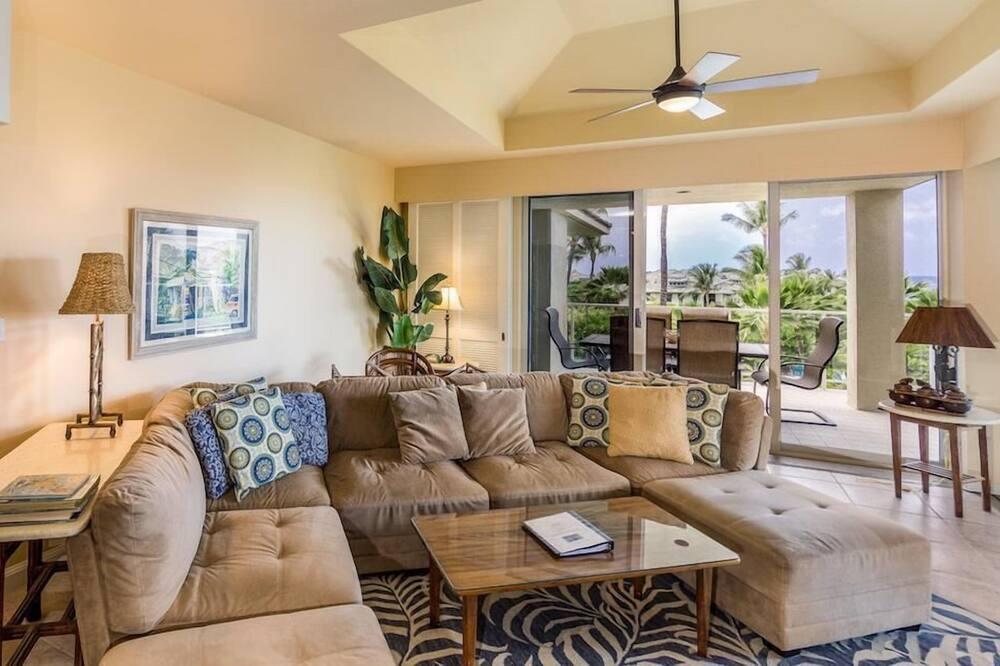Byt, viacero postelí (Vista Waikoloa C305) - Obývačka