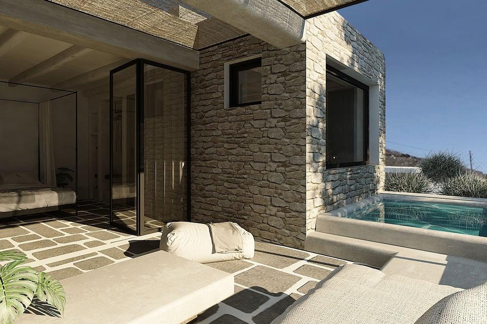 Apartmán typu Junior, výhľad na more - Súkromná vírivka