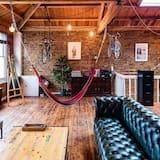 Apartmán typu Premium, výhľad na mesto (3 Bedrooms) - Obývačka