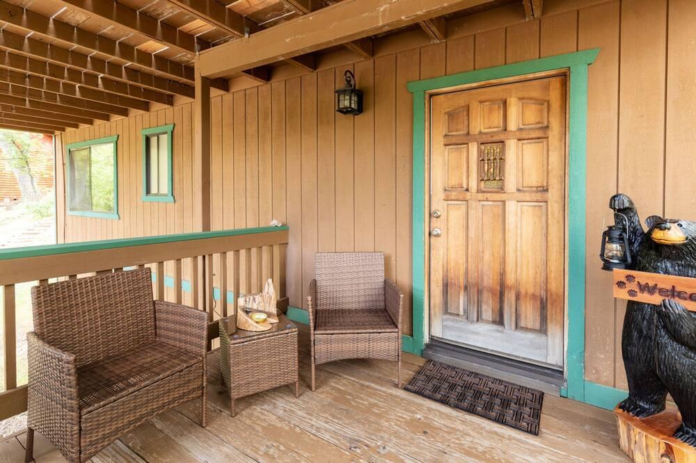 Cabane, 2 chambres - Balcon