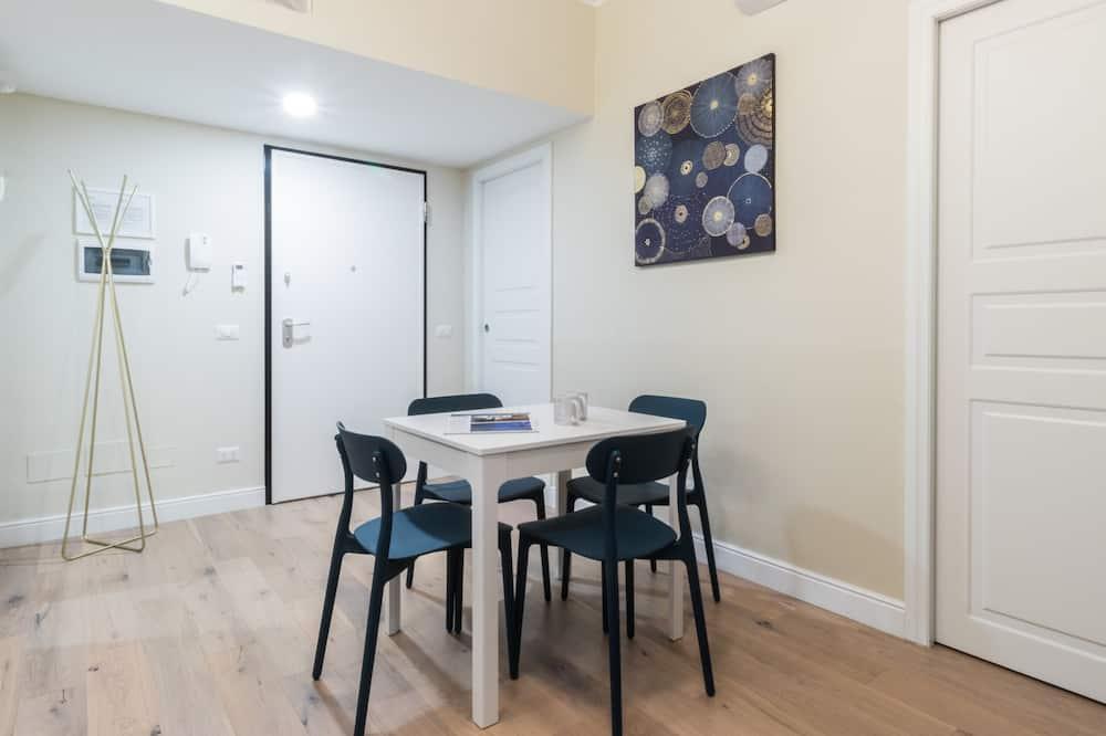 Apartment, Nichtraucher, Kochnische - Wohnzimmer