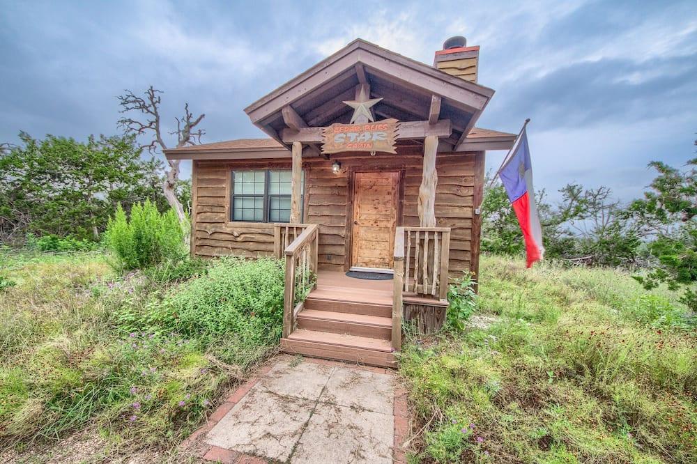 Cedar Bliss Star Studio Bedroom Cabin