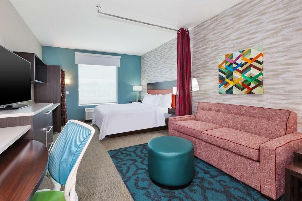 Studio suite, 1 kingsize bed, niet-roken - Woonruimte