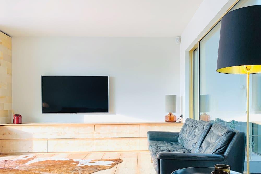 Ateliérový apartmán typu Deluxe - Obývacie priestory