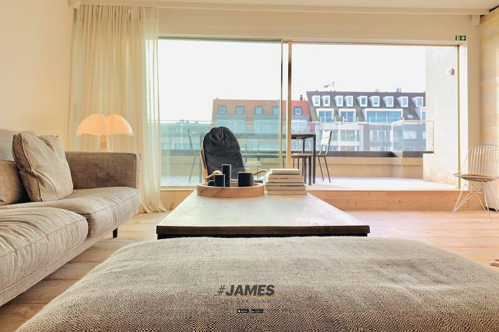 Ateliérový apartmán typu Deluxe - Obývačka