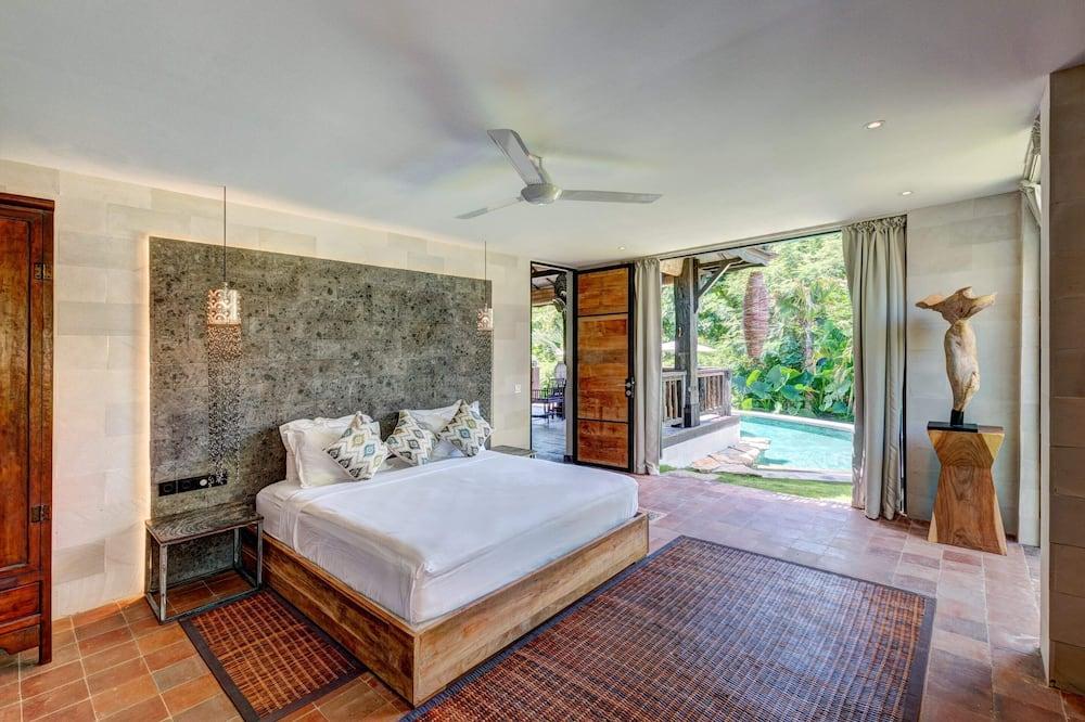 Basic-villa - flere senge - Værelse