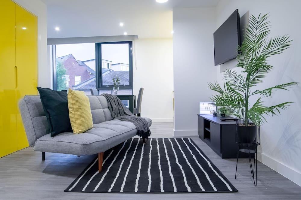 Štúdio, 1 dvojlôžko s rozkladacou sedačkou - Obývacie priestory